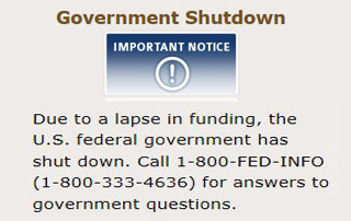 Government Shutdown?!